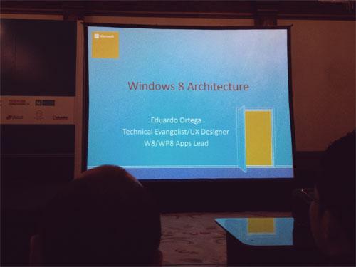 جلسة Windows 8 Architecture