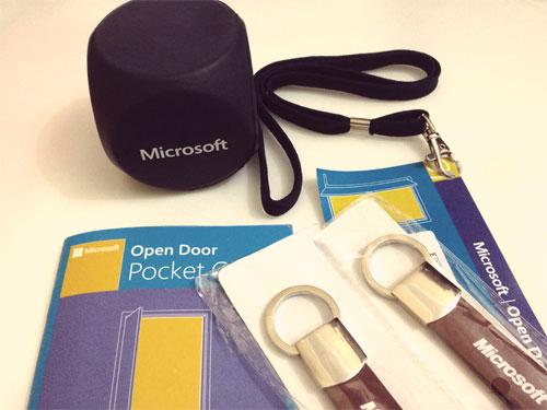 هدايا تذكارية من Microsoft