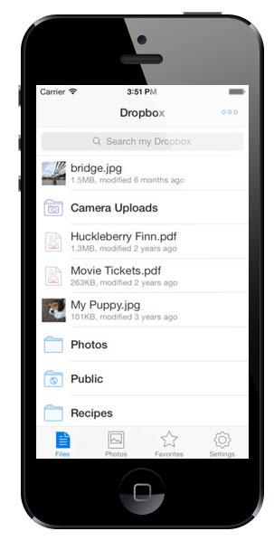 Dropbox 3.0 for iOS