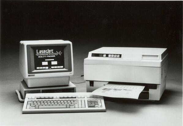 HP First LaserJet Printer