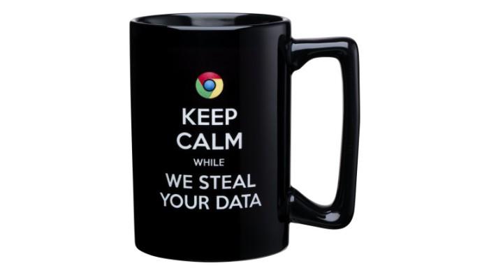 Scroogled Keep Calm Mug