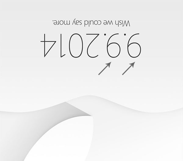 Apple Event 9 9 2014
