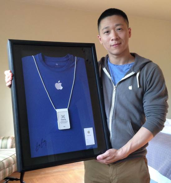 SAM Sung Apple Specialist Business Card Exclusive Charity Auction
