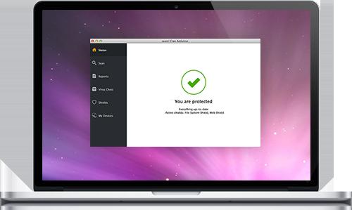 avast! Free Antivirus for Mac