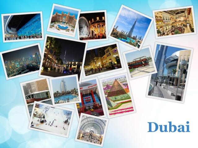 جدول سياحي عائلي للسياحة في دبي لمدة 4 أيام   Kuwait10's World