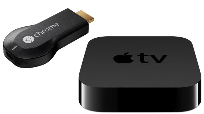 Apple TV و ChromCast كلاهما يفيان بالغرض